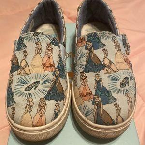 Disney Toms Cinderella Slip on shoes